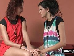 Lesbian, Teen, Shemale make out, Gotporn.com