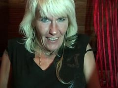 Granny, Blonde, Hairy, German pervert mature, Xhamster.com