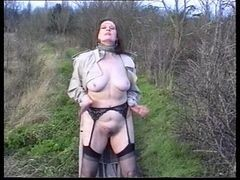 Amateur, British, Hot busty british mature in pantyhose, Xhamster.com