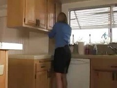 Kitchen, Milf, Mom and sin in kitchen, Xhamster.com