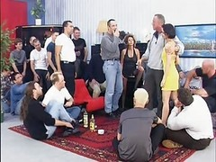 Gangbang, German, Mature, German mature mom kitchen, Xhamster.com