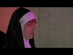 Nun, Mature mother has sex with son in toilet, Gotporn.com