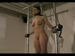 Tied, Young girl tied her legs and, Xhamster.com