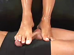 Footjob, Footjob a shoes, Xhamster.com