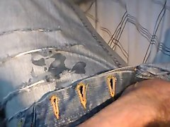 Hairy, Jeans, Cum on jeans, Xhamster.com
