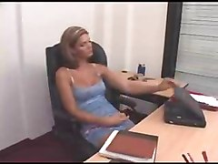 Blonde, Office, Shemale, Young shemale, Xhamster.com