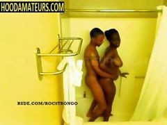 Amateur, Shower, Brother catches sister in the shower, Gotporn.com