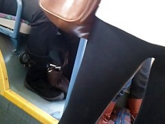 Bus, Upskirt, On the bus, Xhamster.com