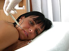 Gyno, Teacher, Exam, Pissing at gyno exam, Xhamster.com