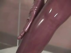 Latex, Messy latex, Xhamster.com