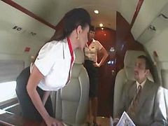 Bus, Stewardess, Stewardess love, Drtuber.com