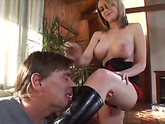 Blonde, Boots, Old Man, Pis s in boots, Xhamster.com