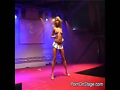 Strip, Dildo, Strip and fuck on stage, Xhamster.com