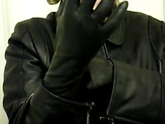 Leather, Gloves, Boot glove, Xhamster.com