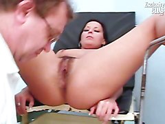 Hairy, Gyno, Teen, Nurse treat her patient, Xhamster.com
