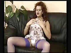 Bus, Gangbang, German, German milf gets fucked on the couch, Xhamster.com