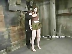 Tied, Redhead, He is tied to her bed, Pornhub.com