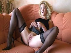 German, Mature, German mature stockings, Drtuber.com