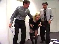 Office, Secretary, Milf, Girle punish girle in office by strapon, Xhamster.com