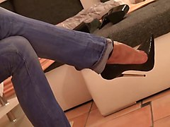 Jeans, Heels, Tight, Teen jeans, Xhamster.com