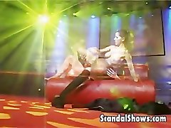 Couple, Lesnian porn striper on stage, Pornhub.com