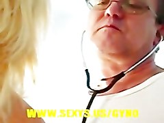 Blonde, Gyno, Teacher, Rebeeca gyno exam, Pornhub.com