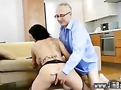 Bus, Stockings, Big black cock fucks tight girl in stockings, Pornhub.com