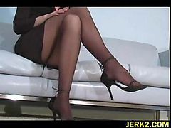 Office, Stockings, Shemales in stockings amp highheels, Drtuber.com