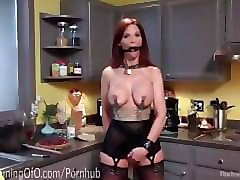 Slave, Milf, Train, Redhead milf has fucked in wc, Pornhub.com