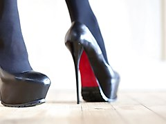 Leather, Heels, Heel job, Xhamster.com