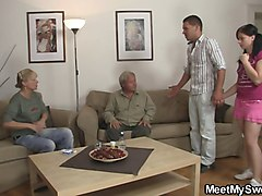 Riding, Old Man, Old man watching us, Xhamster.com
