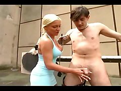 German, German mistresses pee in their slave mouth, Xhamster.com