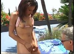 Pool, Black, Little april att pool, Xhamster.com