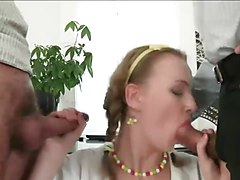 Double Anal, Office, First double anal, Xhamster.com