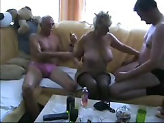 Amateur, Threesome, Mature group, Xhamster.com