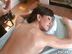 Amateur, Babe, Massage, Small babe succumbs, Xhamster.com