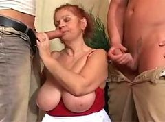 Granny, Tied, Redhead, Natural redhead, Xhamster.com