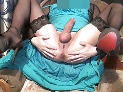 Clit, Dress, Hairy grannie clit rubbing, Xhamster.com
