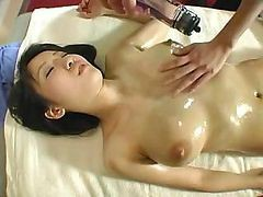 Asiatisk, Japansk, Babe, Asian skinny massage, Drtuber.com