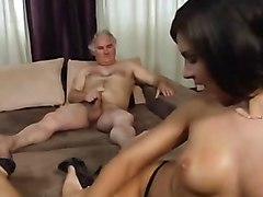 Teen, Old Man, Creampie old man, Xhamster.com