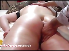 Chubby, Massage, Teen, Full body massage and fucking, Pornhub.com