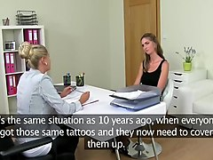 Casting, Lesbian, Mom and daughter lesbian casting couch, Xhamster.com