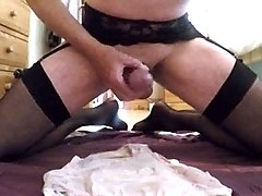 Stockings, Almost caught masterbating, Xhamster.com