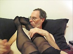 Stockings dirty talk, Xhamster.com