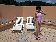 Crossdresser, Swimsuit, Dress, Voyeur mature changing out of swimsuit, Xhamster.com