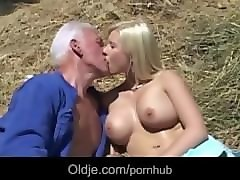 Bus, Blonde, Farm, Vintage in farm, Pornhub.com