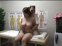 Asian, Japanese, Massage, Japanese wife with father in law, Drtuber.com