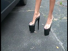 Smoking, Heels, High heels crush, Xhamster.com