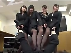 Footjob, Japanese footjob under table, Pornhub.com