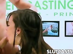 Casting, Casting in back room, Pornhub.com